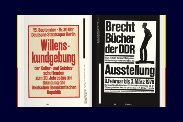 Karl-Heinz Drescher — Berlin Typo Posters, Texts, and Interviews (19)