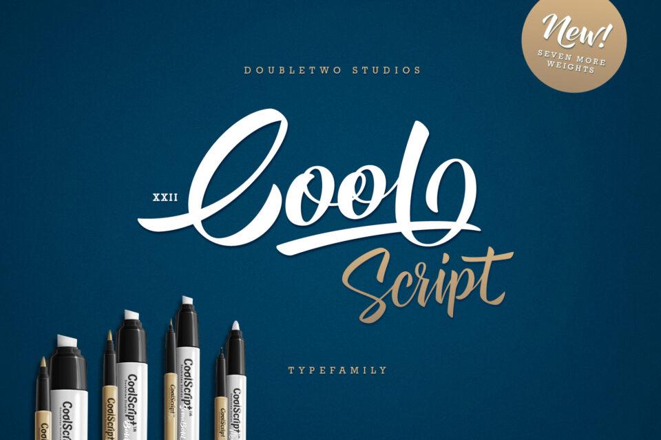XXII CoolScript – Font Family (1)