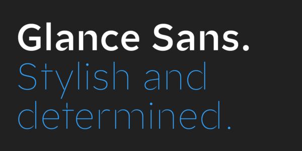 Glance Sans (1)