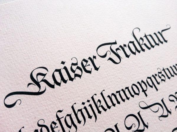 Kaiser Fraktur (1)
