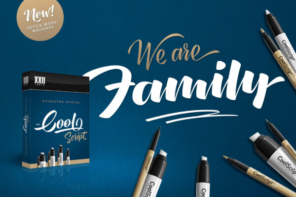 XXII CoolScript – Font Family (2)