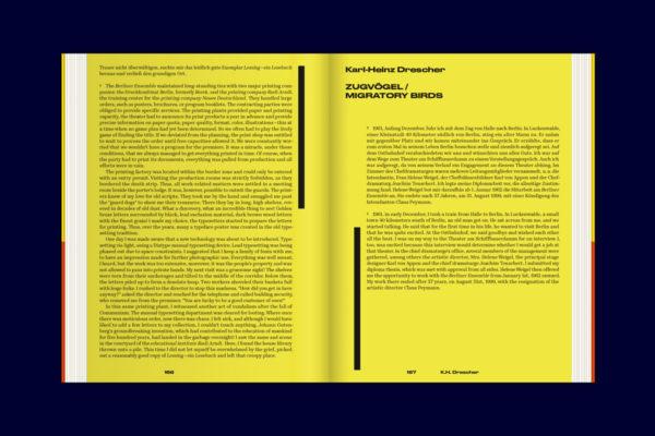 Karl-Heinz Drescher — Berlin Typo Posters, Texts, and Interviews (17)