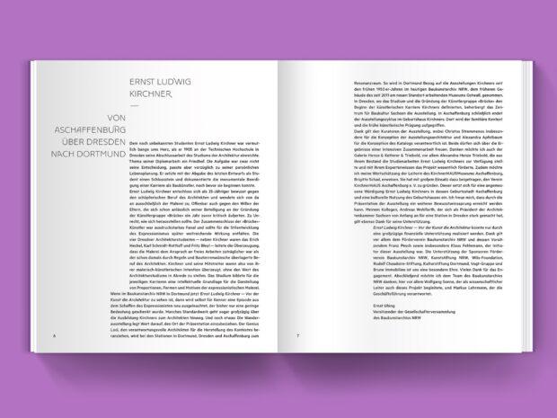 Ernst Ludwig Kirchner – Vor der Kunst die Architektur (2)