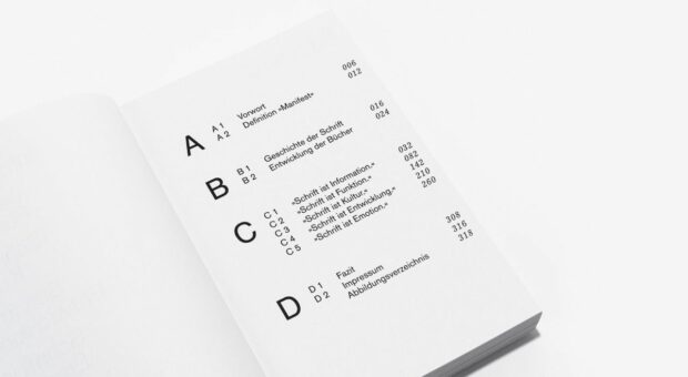 Das »typografische Manifest.« (2)