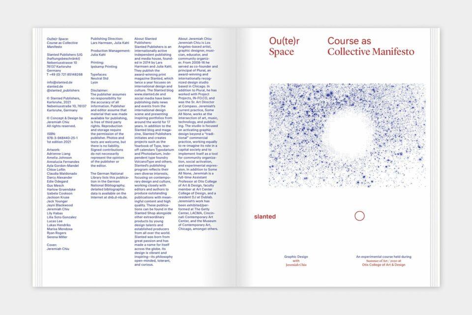 Ou(te)r Space: Course as Collective Manifesto By Jeremiah Chiu