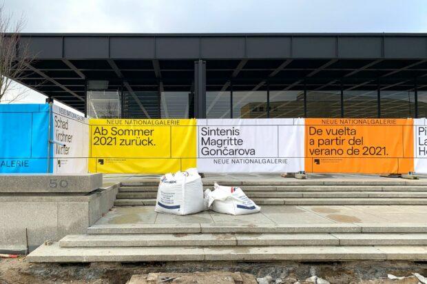 Eröffnungskampagne der Neuen Nationalgalerie Berlin (3)