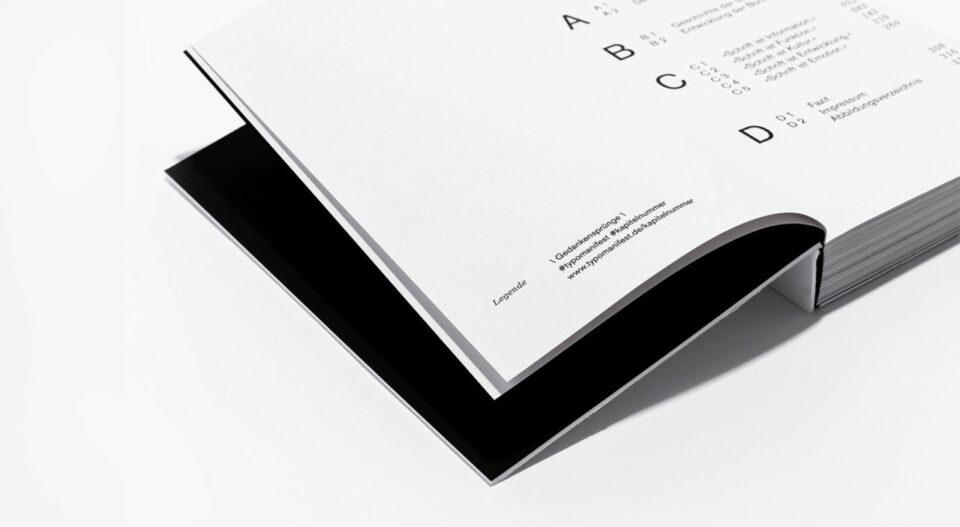 Das »typografische Manifest.«