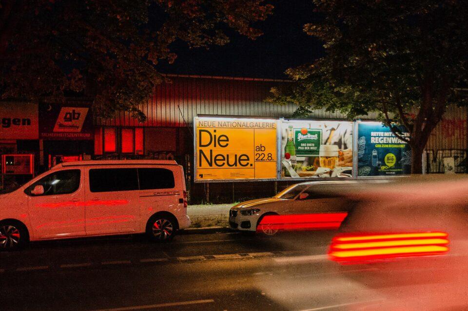 Eröffnungskampagne der Neuen Nationalgalerie Berlin