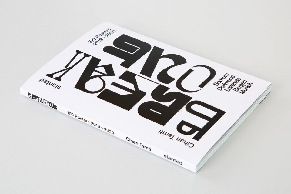 Cihan Tamti — Breakout–100 Posters Book (1)