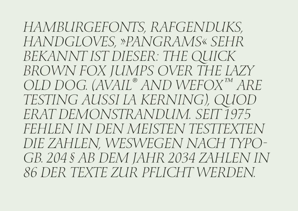 Humanista – A human font