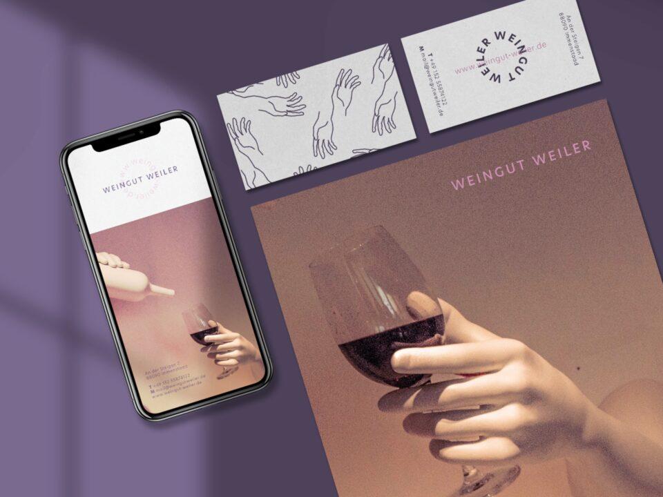 Freies Projekt fürs Weingut Weiler (1)