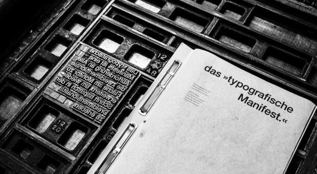 Das »typografische Manifest.« (14)