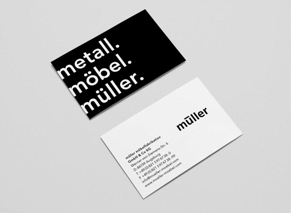 Metall. Möbel. Müller.