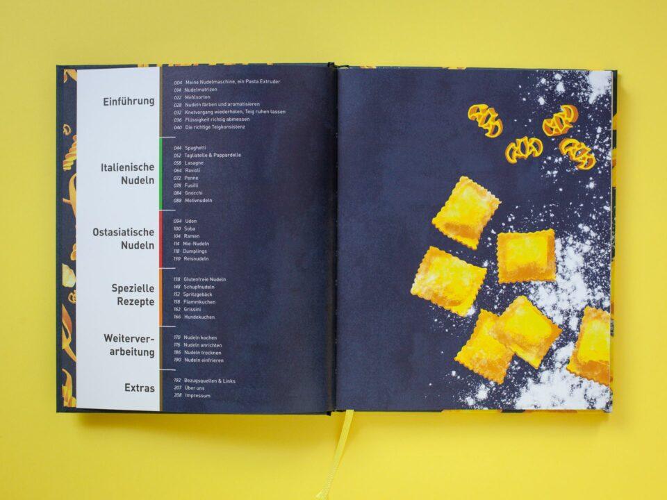 Nudeln auf Knopfdruck – Rezepte für den Pastamaker