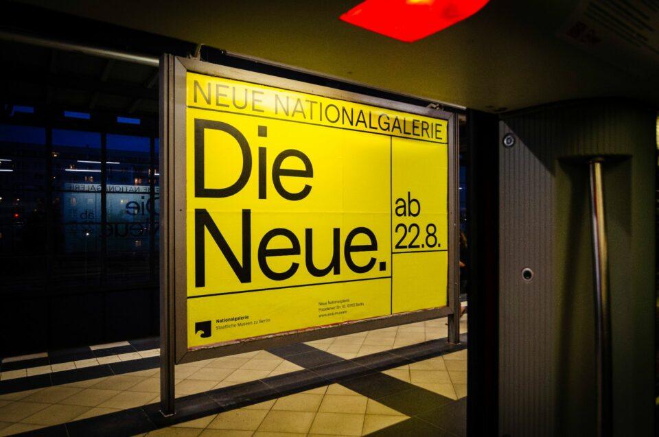 Eröffnungskampagne der Neuen Nationalgalerie Berlin (1)