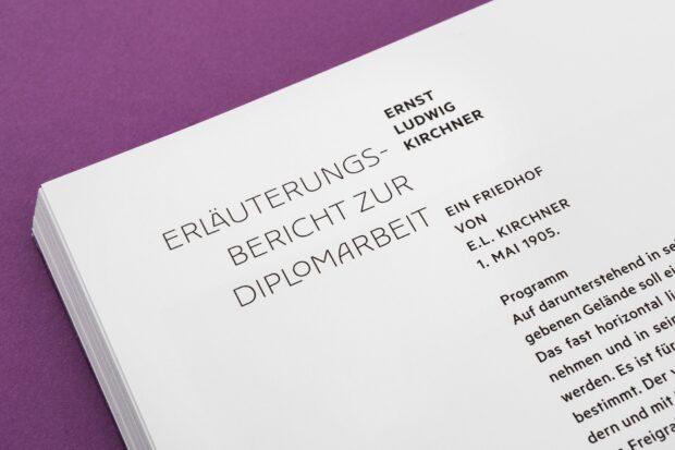 Ernst Ludwig Kirchner – Vor der Kunst die Architektur (8)