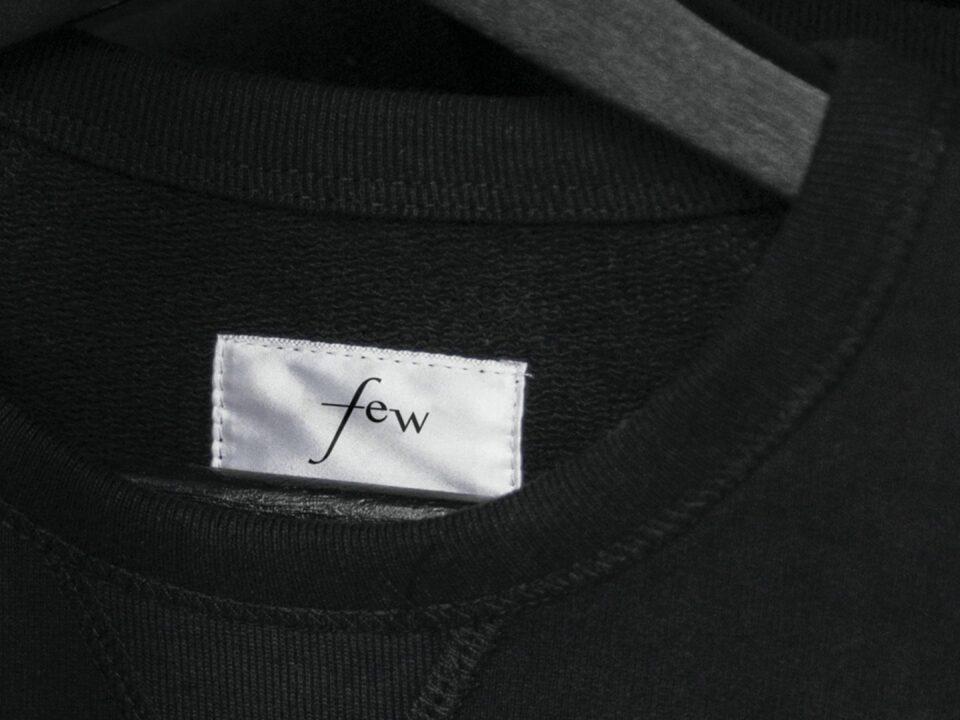 Few – Formula for an effortless Wardrobe