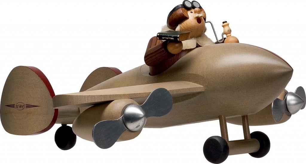 Raeuchermaennchen Flugzeug